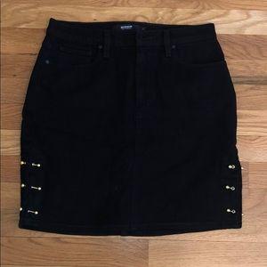 Hudson Jeans Black Lulu Skirt